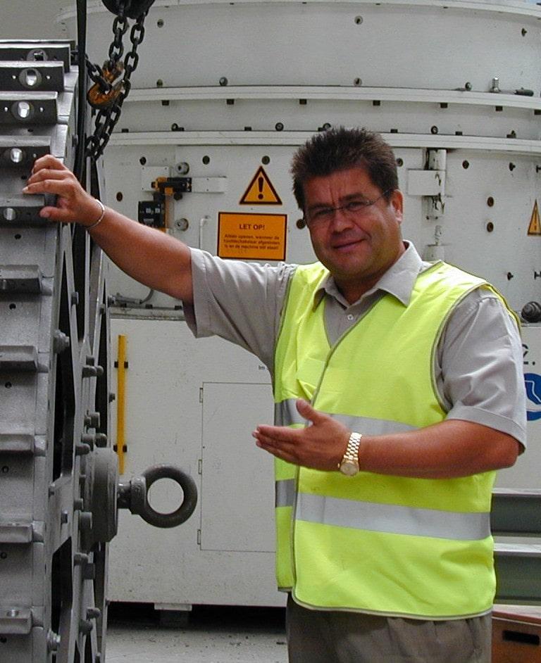 Vincze Gábor Inter-Metal méh telep ügyvezető tulajdonosa