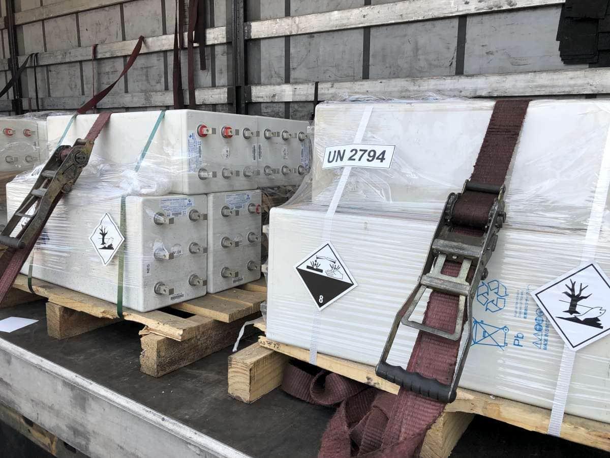 Ipari akkumulátorok átvétele magas áron