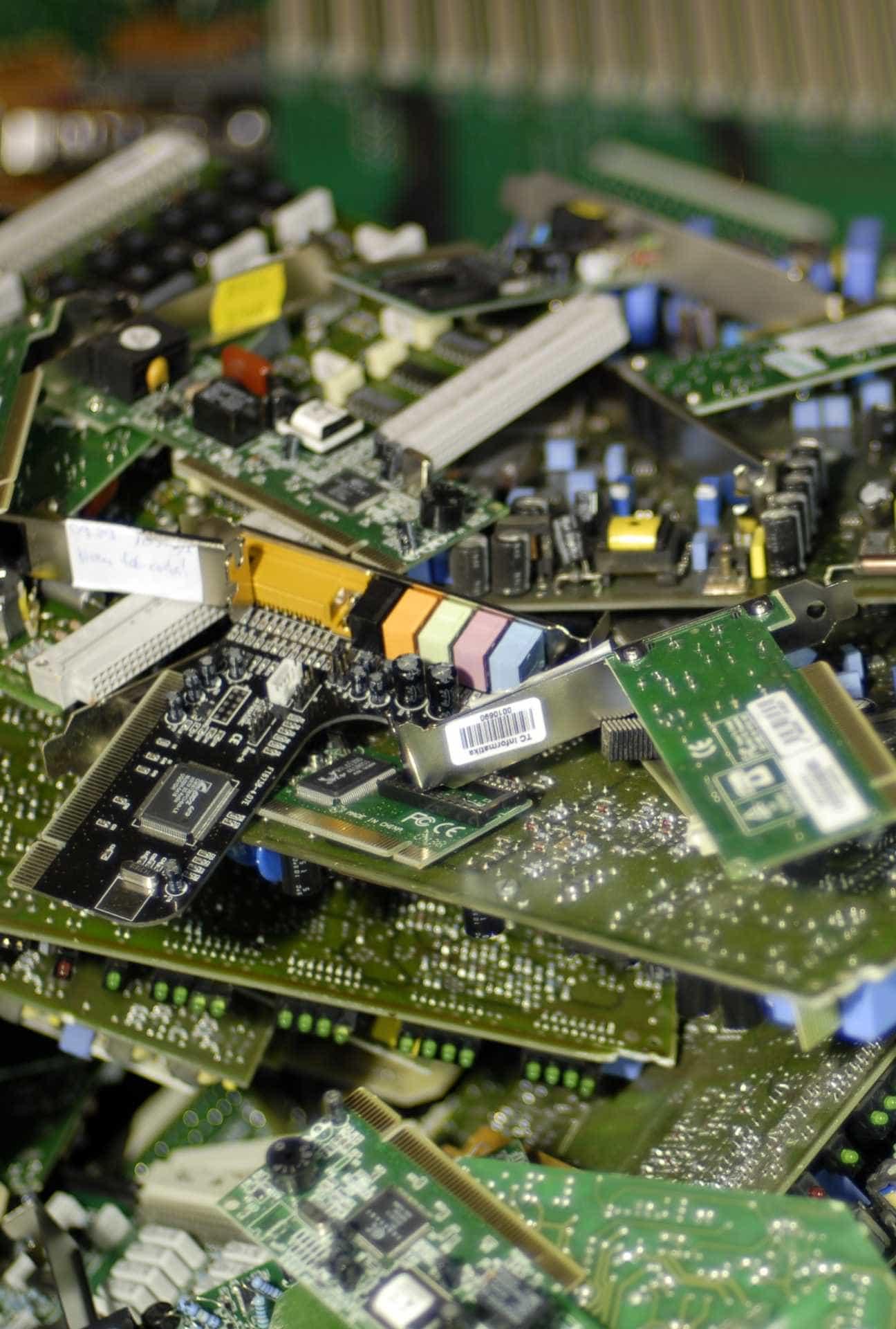Elektronikai hulladékok újrahasznosításának folyamata