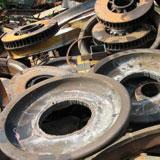 Acél és vas hulladékok tárcsák átvétele