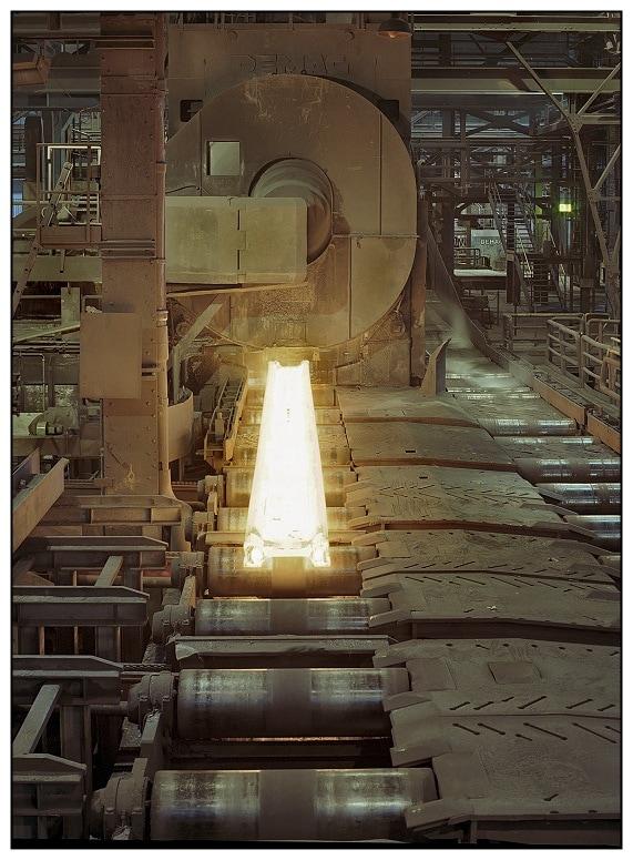 Vas kohóban acél készül